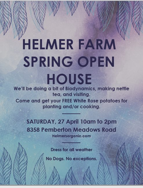 helmers biodynamic open house